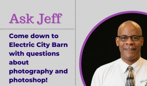 Ask Jeff: Photography/Photoshop (Professional Assistance)