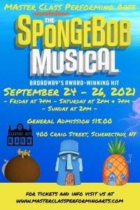 MCPA- SpongeBob TECH Rehearsal @ Electric City Barn